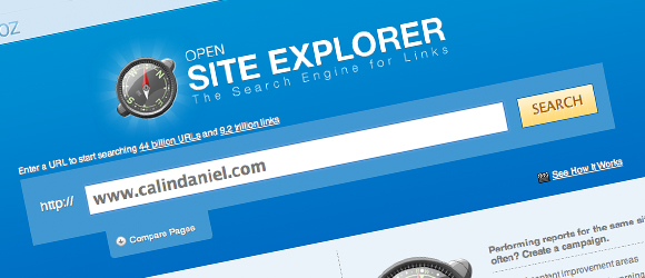 Calgary SEO Meetup - Opensite Explorer Presentation