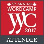 WordCamp Calgary 2017 Organizer